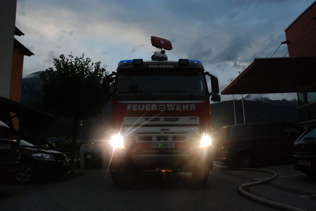 Tanklöschfahrzeug Feuerwehr Volders